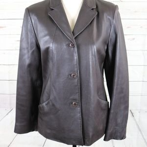 Kenneth Cole 100% Leather womens